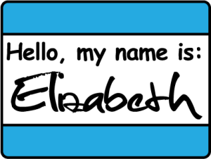 Hello, my name is Elizabeth