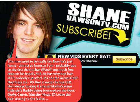 Mocking Shane Dawson