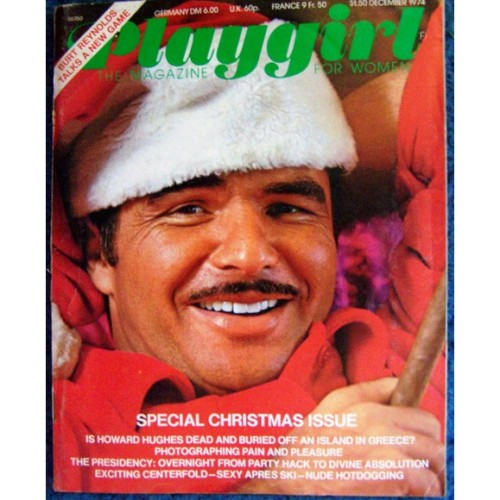 Burt Reynolds cover of Playgirl magazine